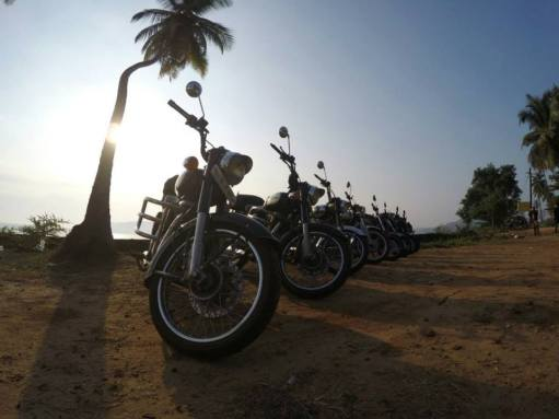 Rotrods Anniversary Ride to Goa